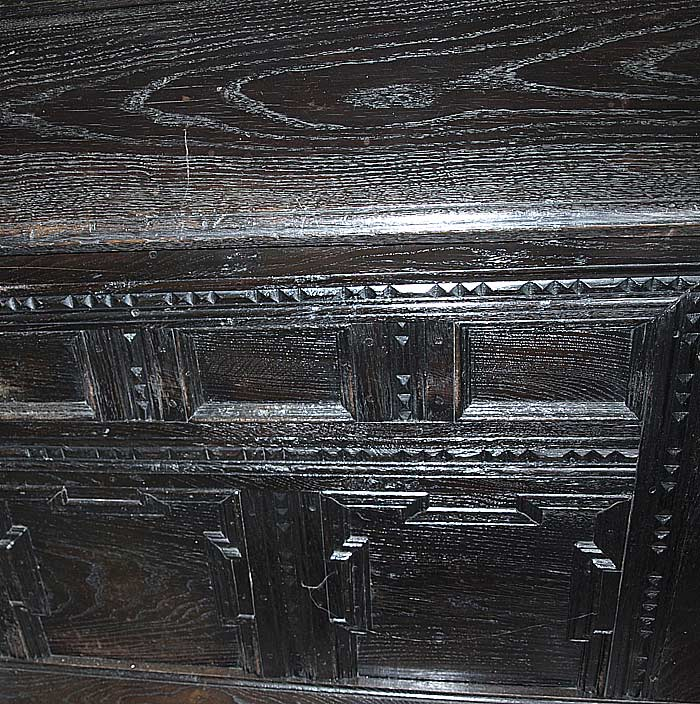 gro e barock truhe 1770 eiche aussteuer truhe ebay. Black Bedroom Furniture Sets. Home Design Ideas