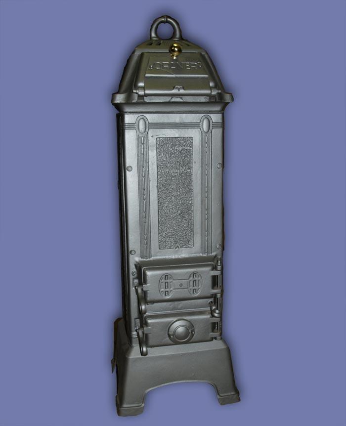oranier 332 gussofen 1920 jugendstil ofen stubenofen ebay. Black Bedroom Furniture Sets. Home Design Ideas